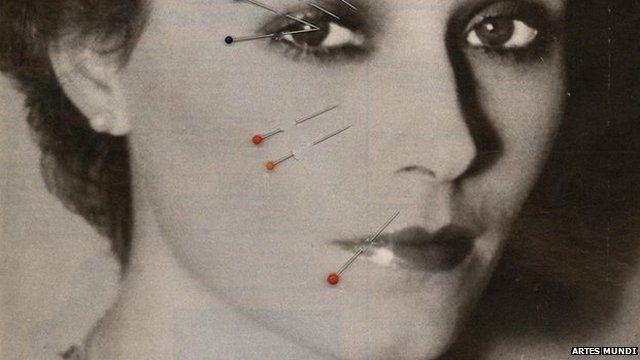 """Sanja Ivekovic's """"Make-up"""""""