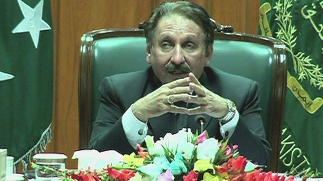 Pakistan's former chief Justice Iftikhar Chaudhry