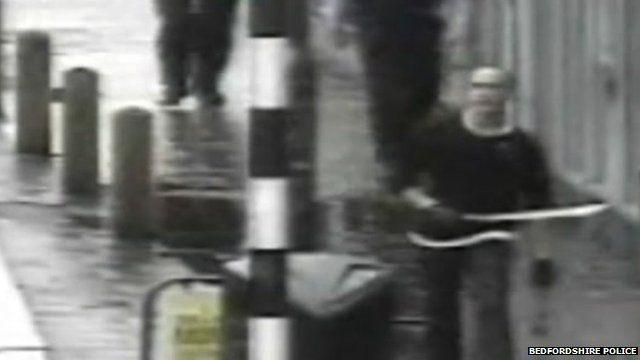 Anthony Underwood with machete in Midland Road