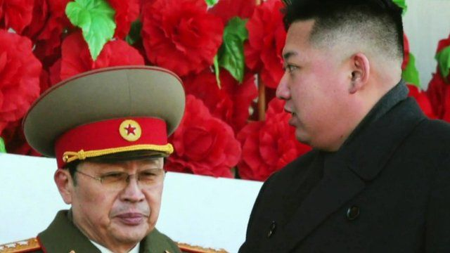 Chang Song-thaek with Kim Jong-un