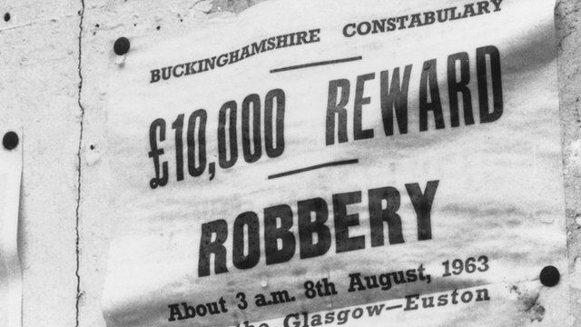 Train robbery poster