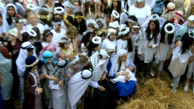 Nativity record attempt Preston