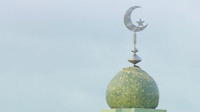 Rooftop of mosque