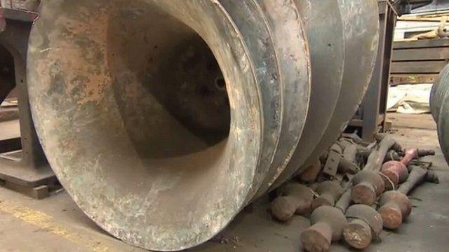 Christchurch Cathedral damaged bells
