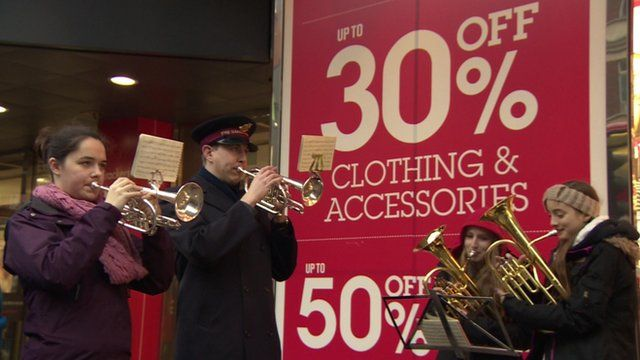 Many shops introduce promotions on what is usually the biggest shopping weekend of the year