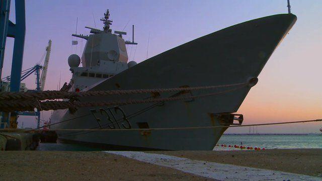 Norwegian warship