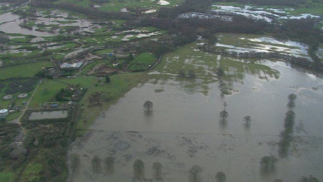 Flooding in southern England