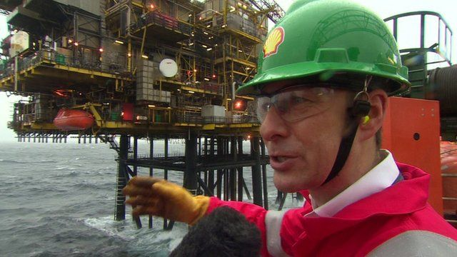 Chairman of Shell Ed Daniels