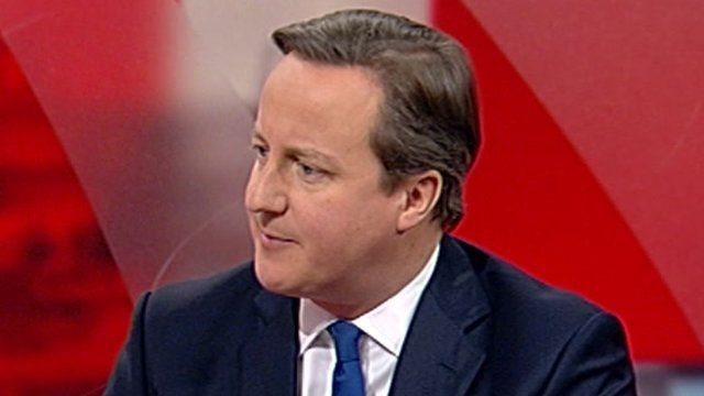 "David Cameron called power cuts over Christmas ""unacceptable"""