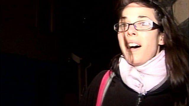 Student in Aberystwyth
