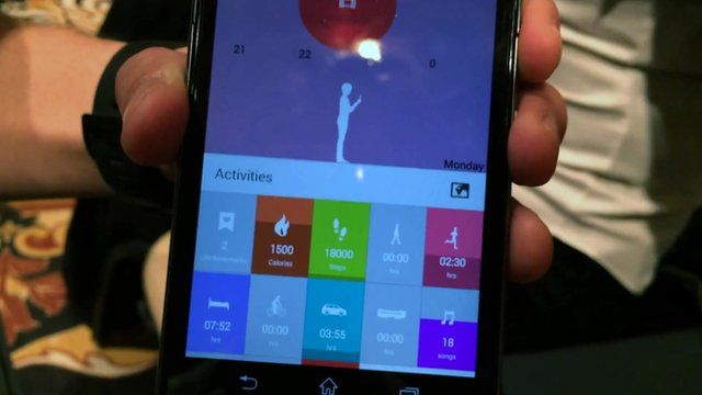 The Sony Lifelog Android app