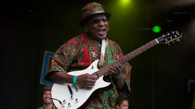 Ebo Taylor performing at Womad world music Festival, Charlton Park, Wiltshire, Britain - 31 Jul 2011