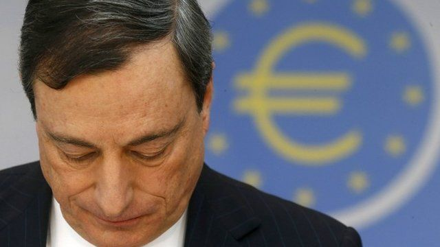 European Central Bank (ECB) President Mario Draghi attends the monthly ECB news conference in Frankfurt January 9, 2014