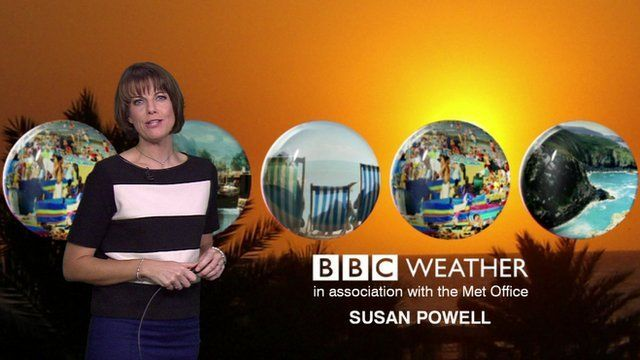 Pesenter Susan Powell recalls a 'Hitchcock' moment whilst on air