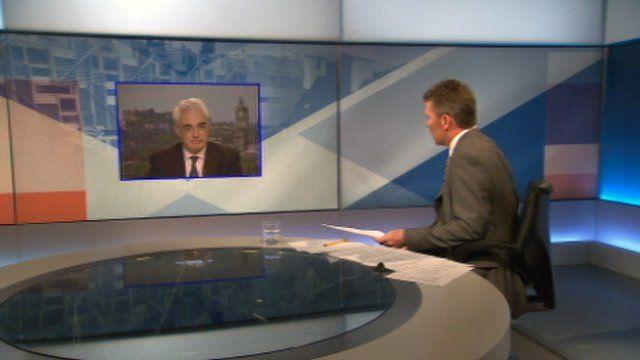 Alistair Darling interviewed Bill Whiteford