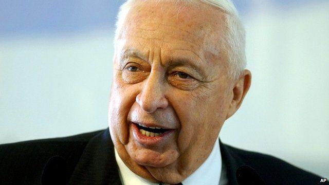 Ariel Sharon in 2004
