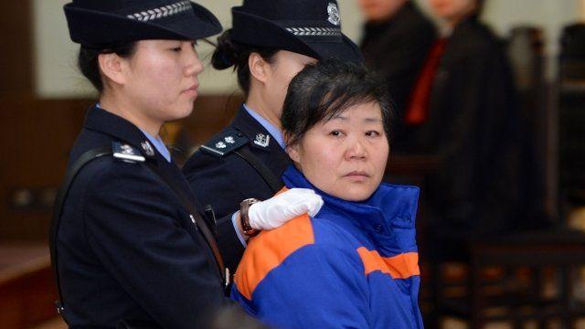 Zhang Shuxia in court