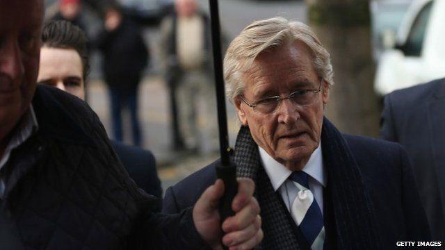William Roache arrives at Preston Crown Court