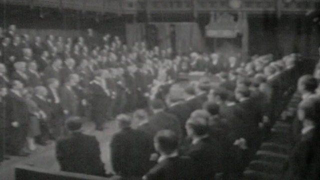 State Opening of Parliament in 1966
