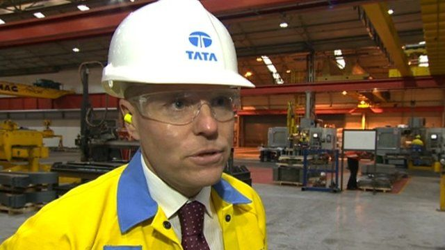 Paul Steele, managing director of Tata Steel Distribution UK