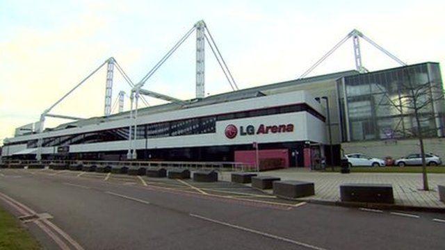 Birmingham's LG arena