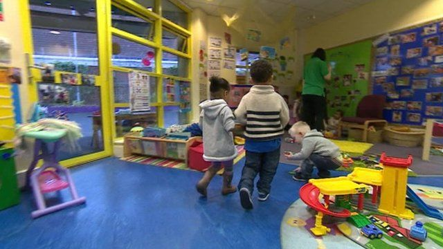 Children at a play group