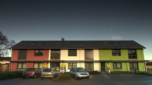 The Passivhaus energy efficient house