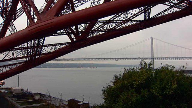 Forth rail and road bridges