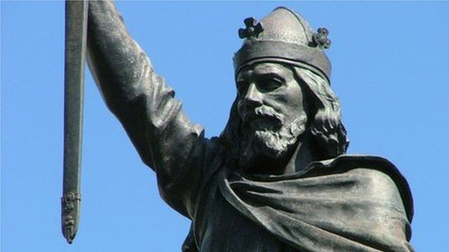 Alfred the Great statue