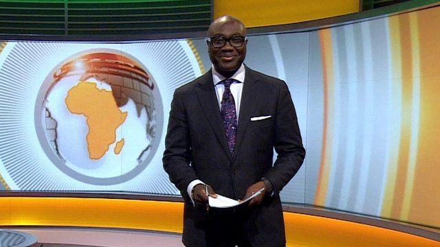 Komla Dumor presenting Focus on Africa 17/01/2014