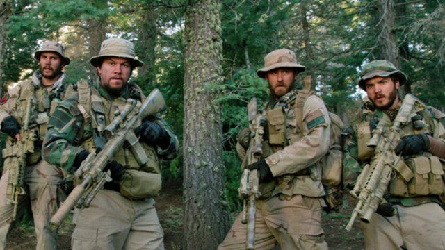 Mark Wahlberg and others in Lone Survivor