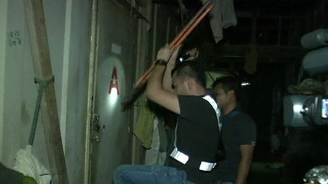 Officer carries out raid in Malaysia