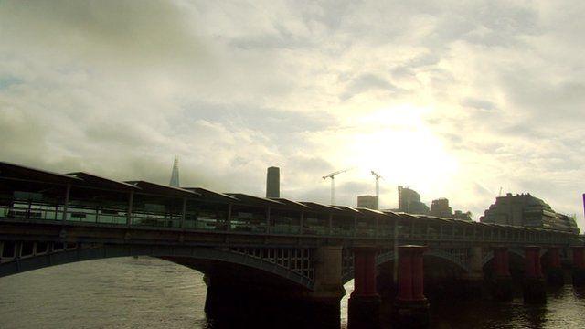 Blackfriars Bridge and station