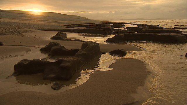 Coast on Tywyn