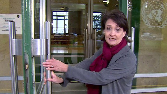 The BBC's Imogen Foulkes