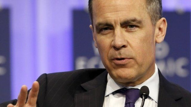 Mark Carney at the World Economic Forum in Davos