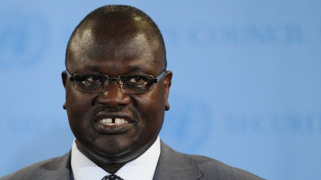Riek Machar in 2011