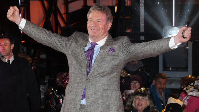 Jim Davidson leaves the Big Brother house