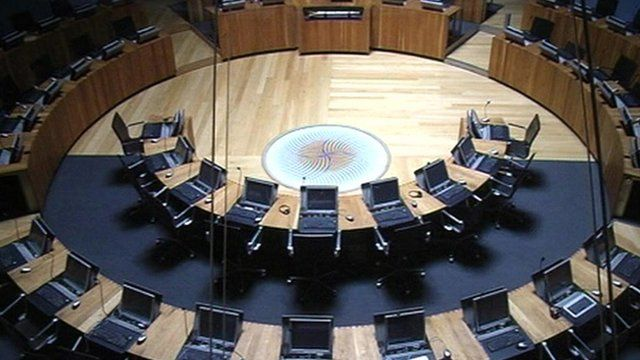 Welsh assembly building