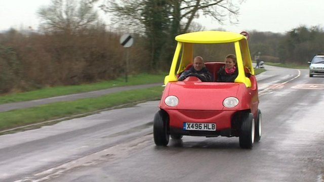 Road version of children's toy car!