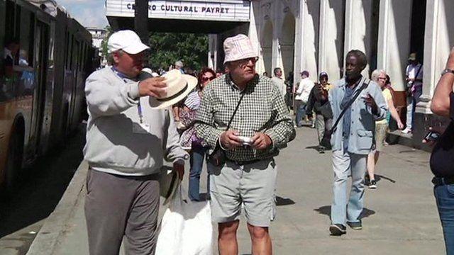 Two US tourists