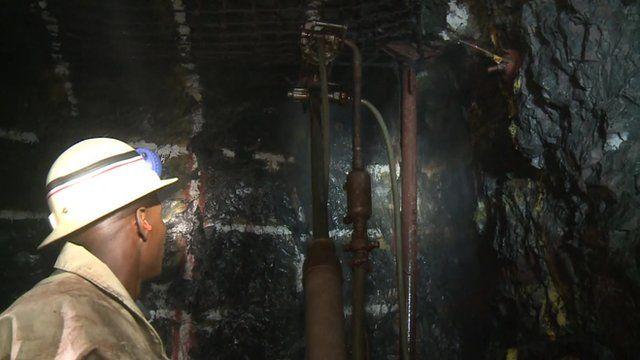 Mining for manganese in South Africa