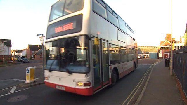 School bus in Essex