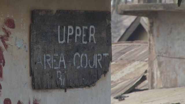 Court sign