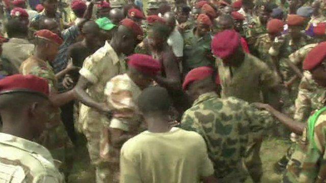 Soldiers lynch man in CAR