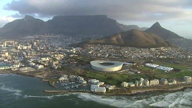 Cape Town aerial photo