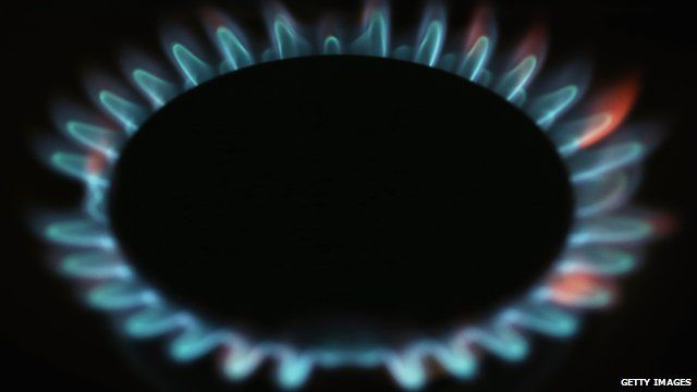 A gas cooker