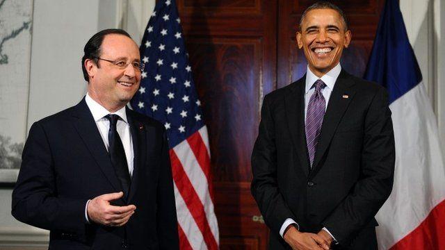 Hollande & Obama
