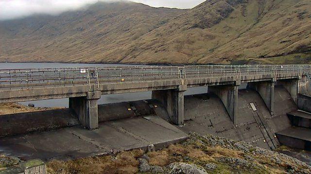 Cruachan hydro power station