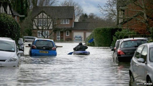 Flooding in Surrey